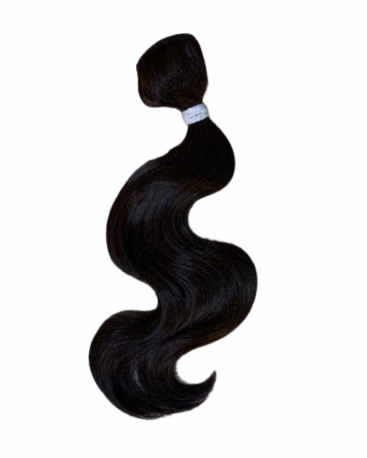 body weft practice hair