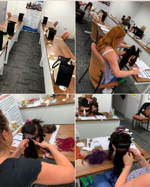 hair extension course south wales