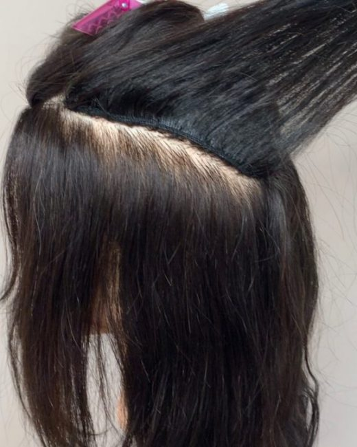 invisible weave method