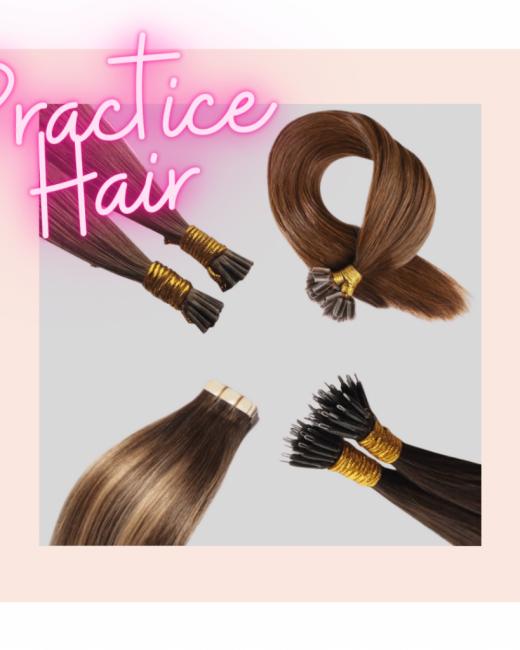 practice hair