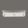 white hair extension holder